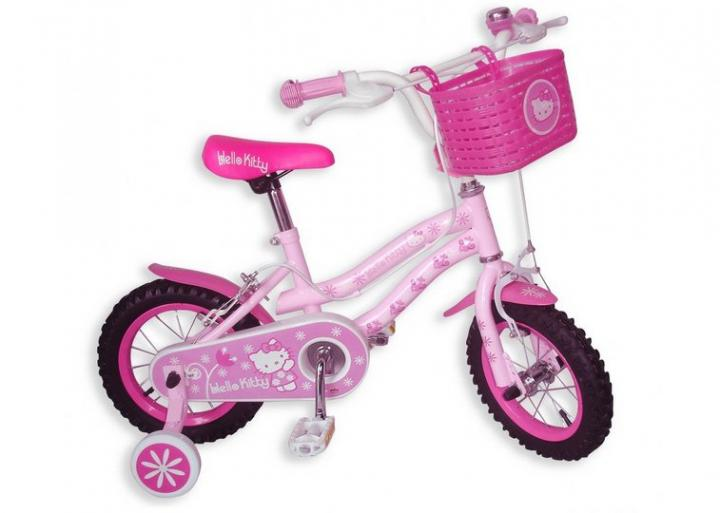 Bicicleta intantil de Hello Kitty