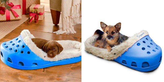 Cama para perros con forma de zapatilla ideas para regalar - Casas para perros pequenos ...