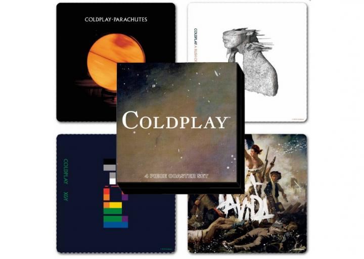 Posavasos de Coldplay