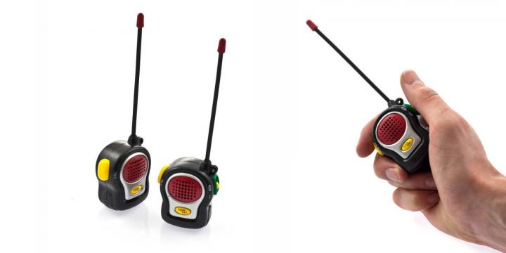 O Walkie-Talkie mais pequeno do mundo