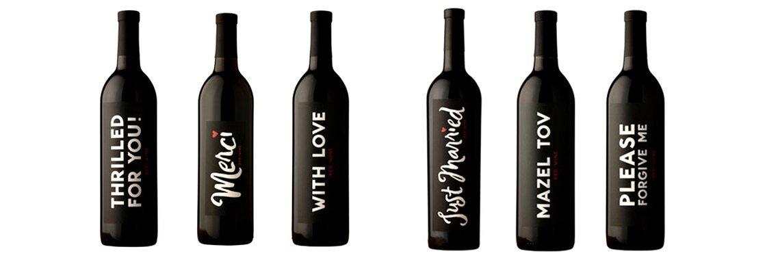 Botellas de vino personalizadas ideas para regalar - Botelleros de vino ...