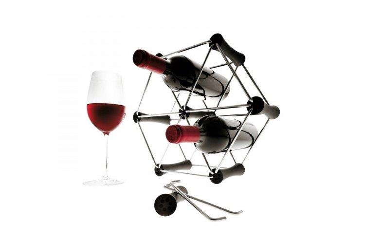 Botellero de acero inoxidable de eva solo ideas para regalar - Botelleros de diseno ...