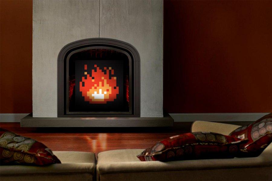 Fuego decorativo para chimeneas amazing vok multimedia es - Fuego decorativo para chimeneas ...