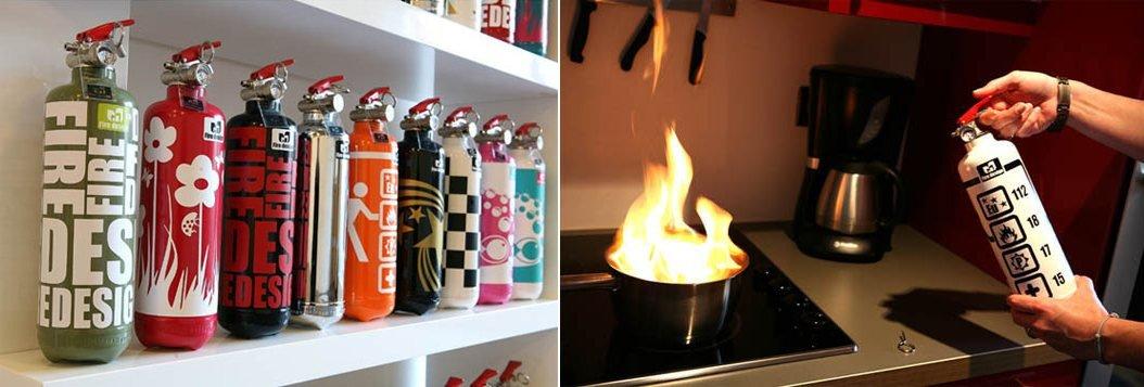 Extintores de dise o ideas para regalar - Extintor para casa ...