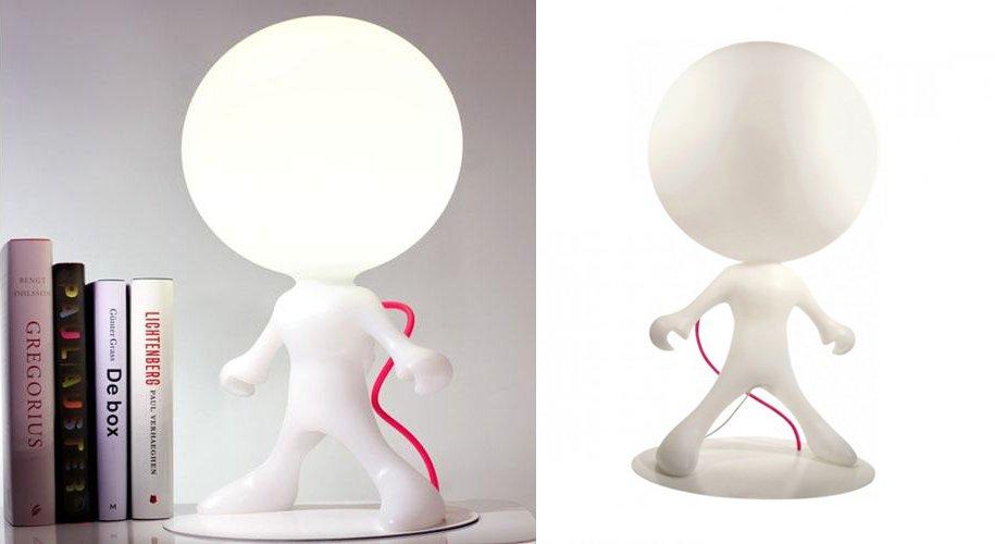 L mpara de mesa spacewalker ideas para regalar - Lamparas de mesa originales ...