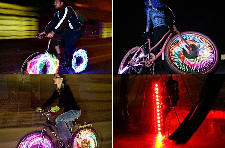 7c3249bc8 Luces LED para la bicicleta. Ideas para regalar.