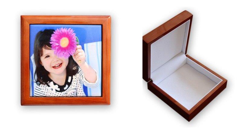 Caja personalizada de madera ideas para regalar for Cajas personalizadas con fotos