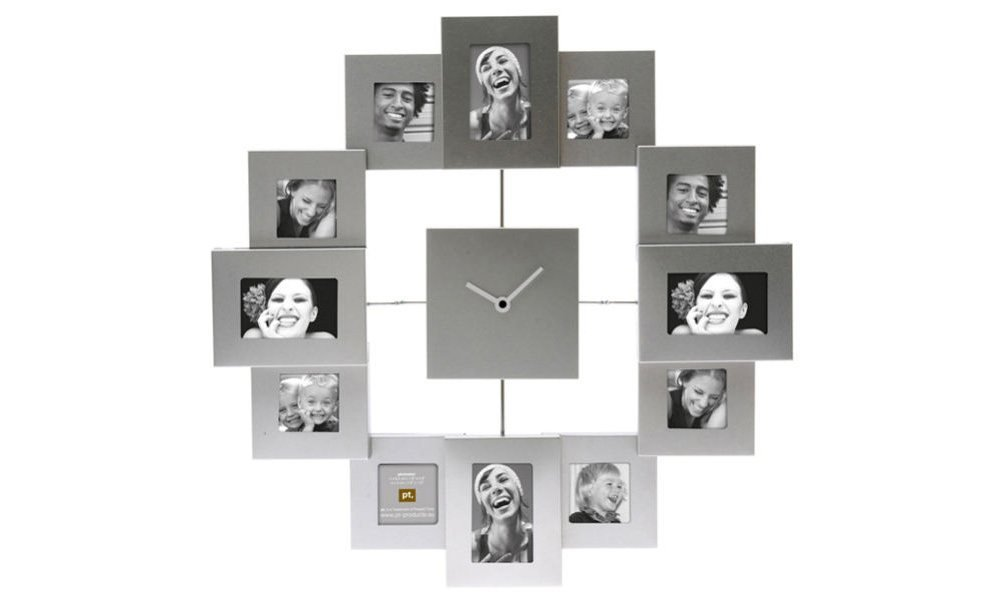 Reloj de pared con fotos personales ideas para regalar - Relojes para decorar paredes ...