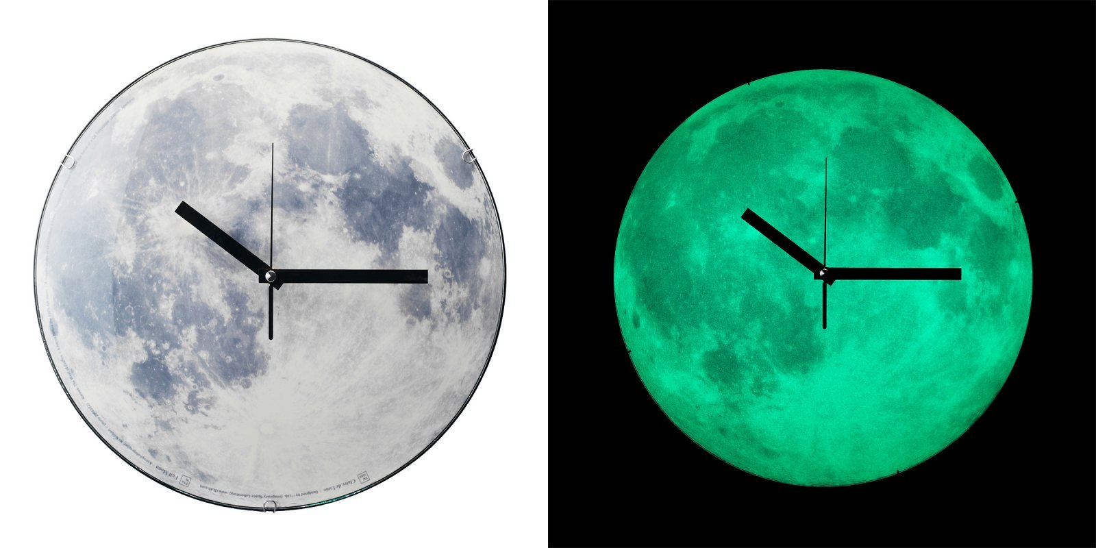 Reloj de pared luna llena ideas para regalar - Mecanismo para reloj de pared ...