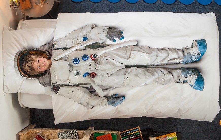Ropa de cama infantil de astronauta ideas para regalar - Decoracion ropa de cama ...
