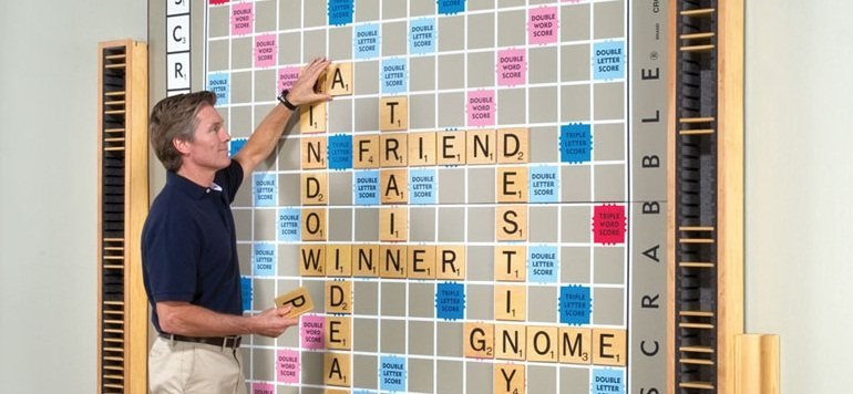 Scrabble gigante ideas para regalar - Scrabble decoracion ...
