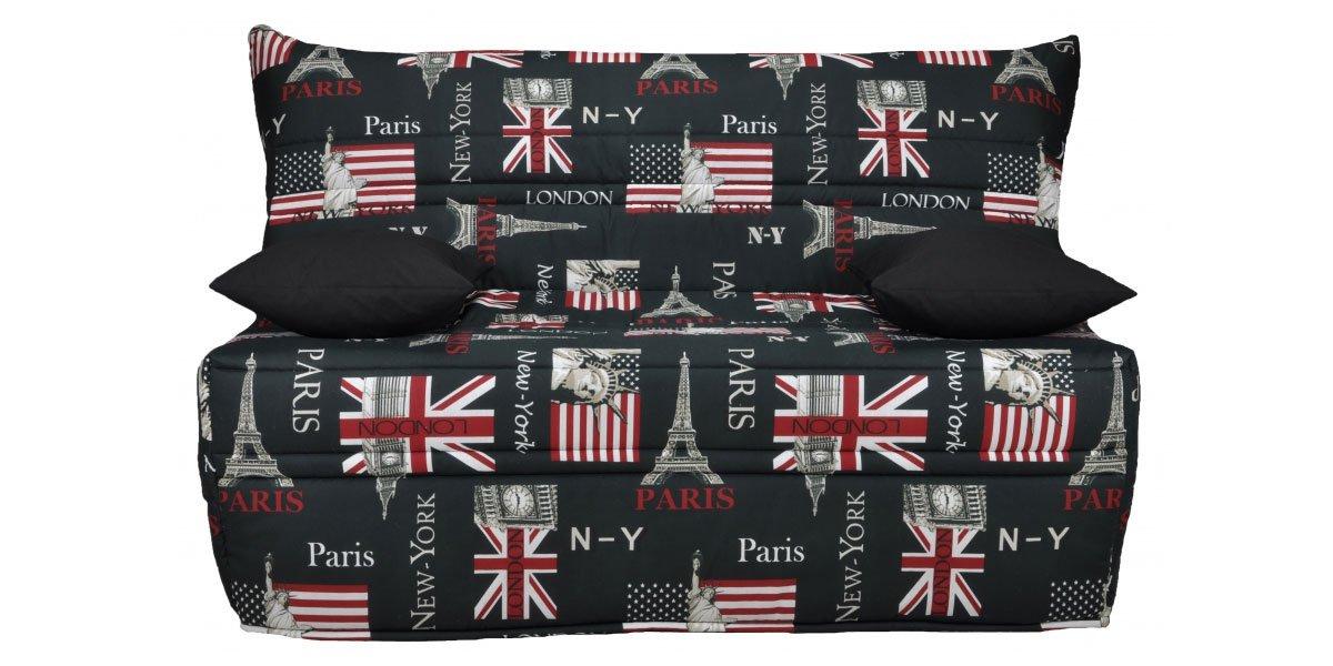 Sof cama acorde n para decoraciones cosmopolitas ideas for Sofa cama acordeon