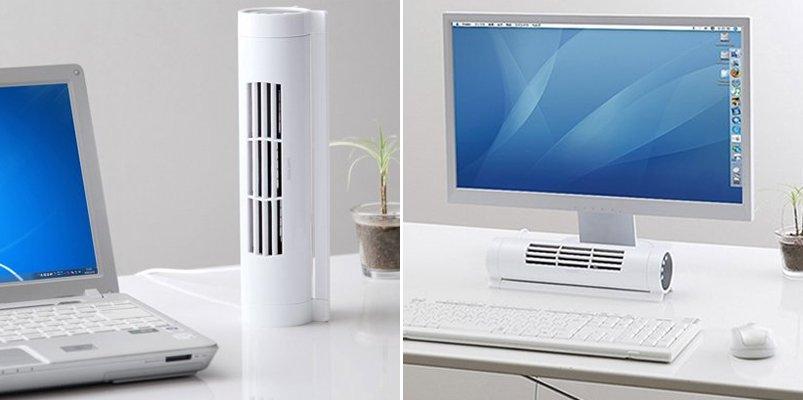 Compacto ventilador para el escritorio ideas para regalar for Ventiladores para oficina